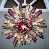 60 best images about wreaths on Pinterest | Diaper wreath ...