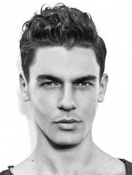 17 Besten Men Curly Hairstyles Bilder Auf Pinterest