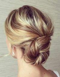 Best 25+ Thin hair updo ideas on Pinterest | Medium length ...