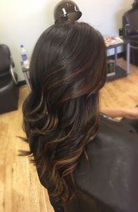 25+ best ideas about Dark Hair Highlights on Pinterest ...