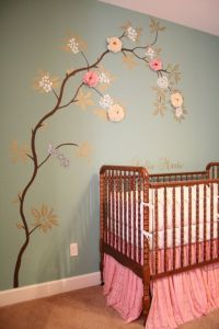 17 Best ideas about Baby Girl Rooms on Pinterest