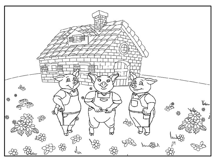 89 best images about The Three Little Pigs! on Pinterest