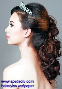 25+ best ideas about Tiara hairstyles on Pinterest ...