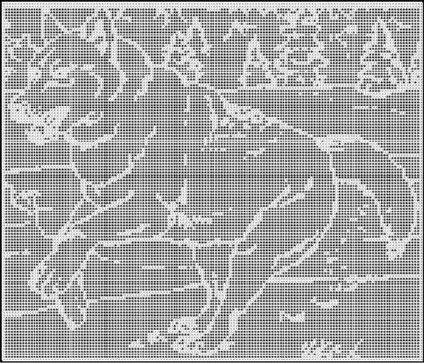 1000+ images about crochet dog graphs on Pinterest