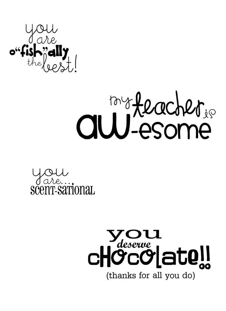 cute printable tags for gifts: Swedish fish, A&W rootbeer, candle/lotion, etc.. chocolate