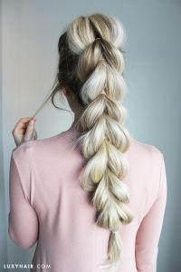 25+ best ideas about Pull Through Braid on Pinterest ...