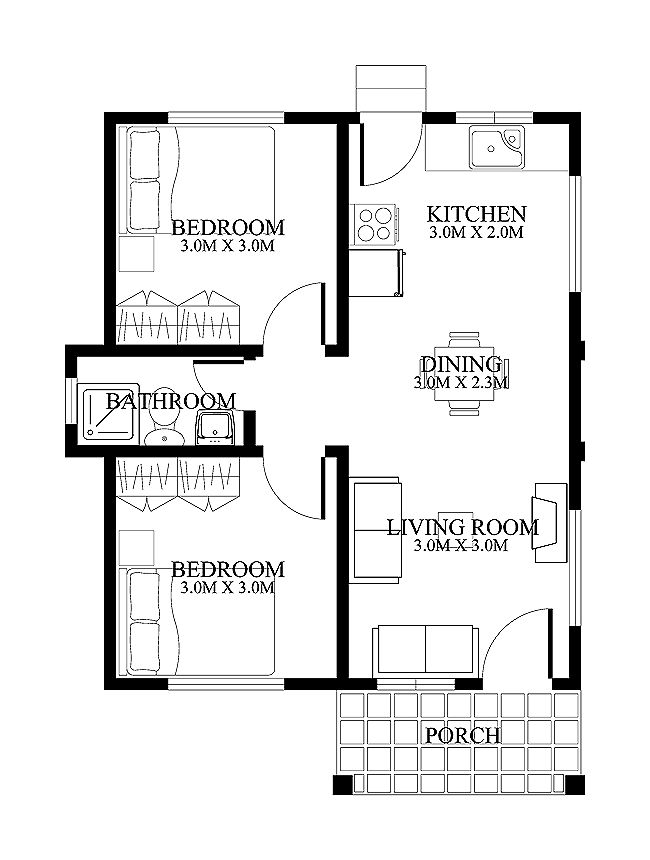 Eplans Plans House Hwepl62461 Plans Floor on