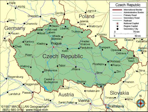 Czech Republic Atlas Maps and Online Resources