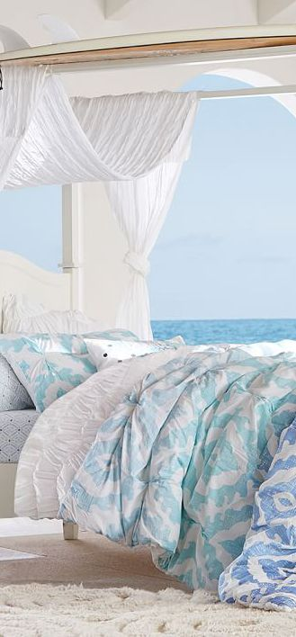 17 Best ideas about Beach Bedrooms on Pinterest