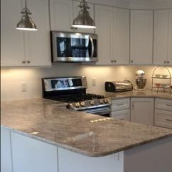 Kitchen Under Cabinet Lighting Gel Pro Mat Lights Over Peninsula | Ideas Pinterest ...