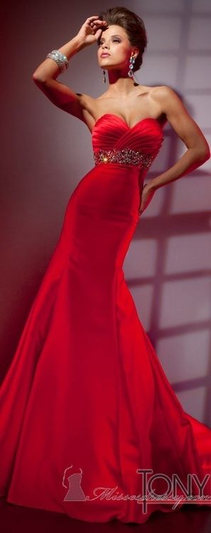 1000 Ideas About Red Evening Gowns On Pinterest Evening