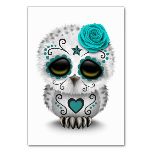 Cute Pink Elephant Wallpapers Cute Teal Day Of The Dead Sugar Skull Owl White Table