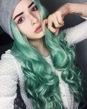 ideas green hair