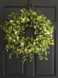 25+ best ideas about Front door wreaths on Pinterest