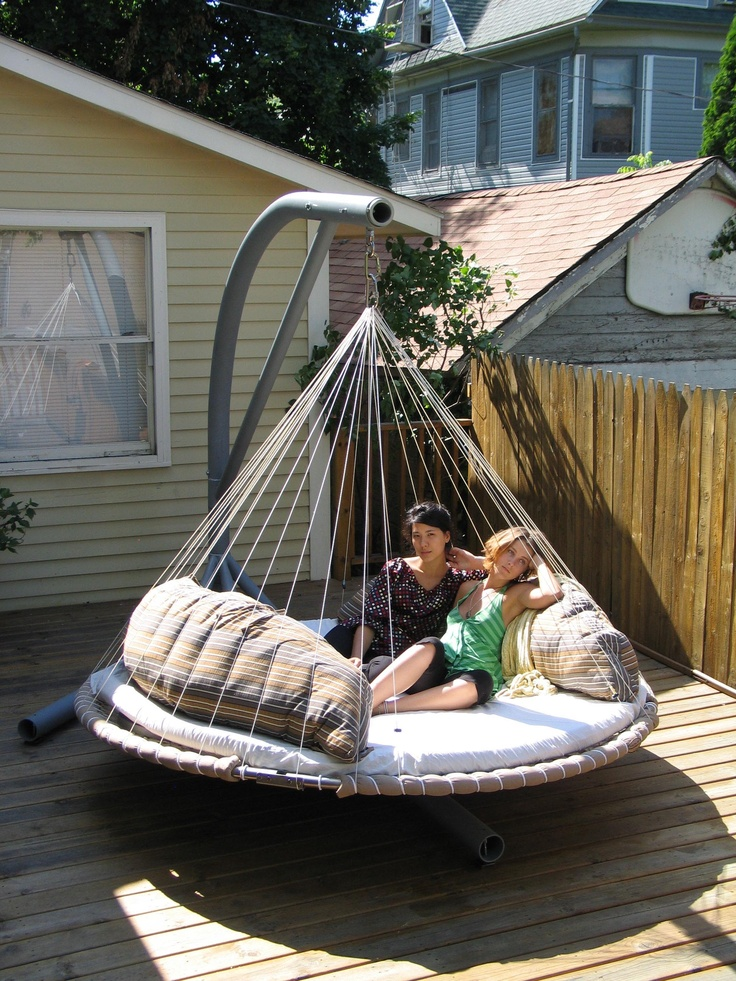 17 Best images about Hanging Beds Chairs  Tents on