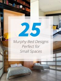 25 Murphy Bed Designs Perfect for Small Spaces | Murphy ...