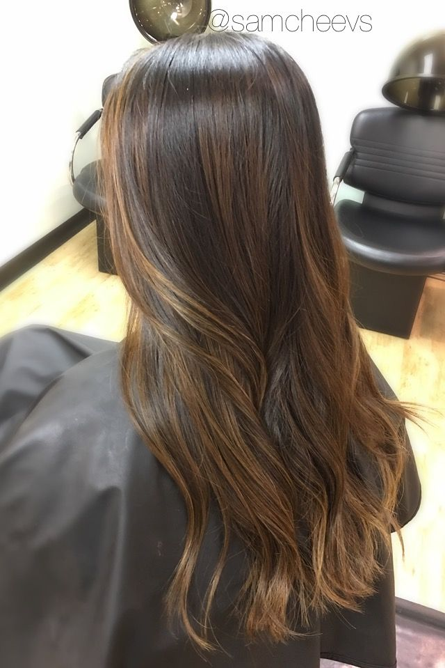 1000 Ideas About Highlights For Black Hair On Pinterest Of