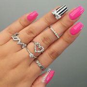 ideas bow nail design