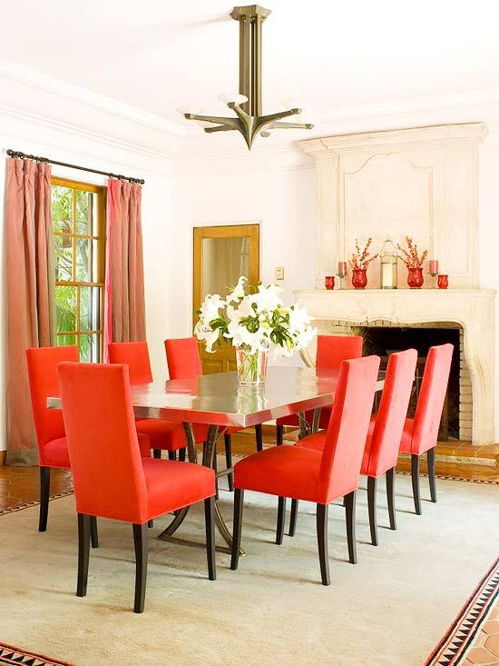 25 best ideas about Red dining rooms on Pinterest  Red accent walls Red accent bedroom and