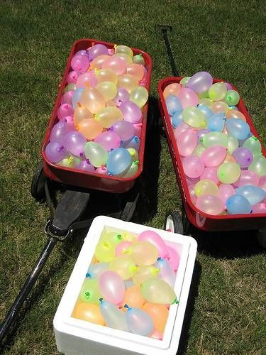 Outdoor Water Birthday Party Ideas or maybe for the boys party @Kateri Bugos-Rey