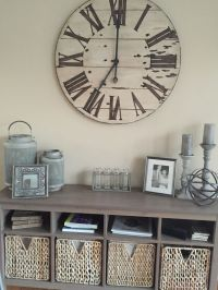 25+ best ideas about Wall Clock Decor on Pinterest | Large ...