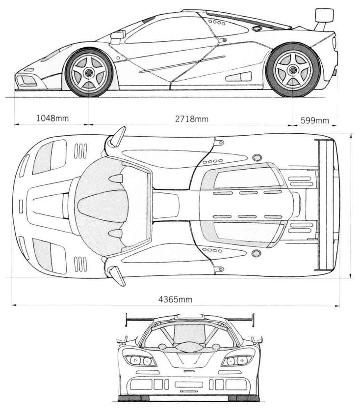 19 best images about car blueprint on Pinterest