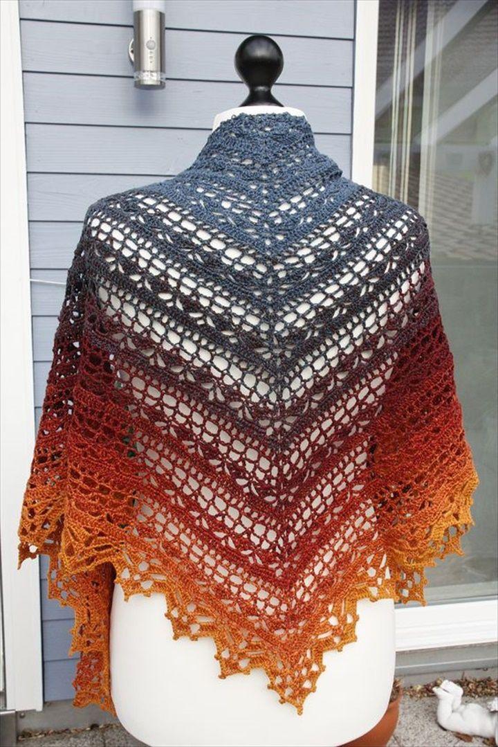 Best 25+ Shawl patterns ideas only on Pinterest