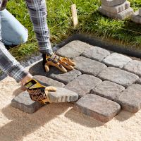 25+ best ideas about Laying Pavers on Pinterest   Brick ...