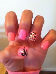 spring acrylic nails fun