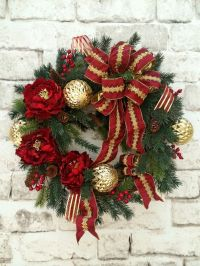 25+ best ideas about Outdoor christmas wreaths on ...