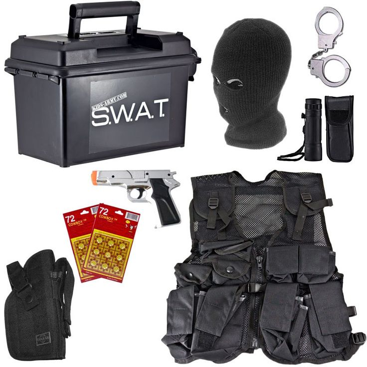 Spy Academy Police Officer Metal Handcuffs  Cap dagde