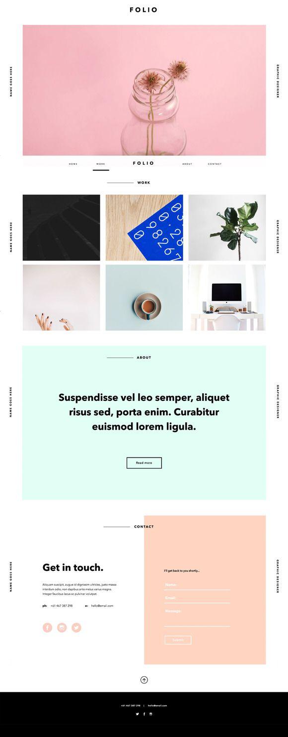 25 Best Ideas About Site Design On Pinterest Web Design