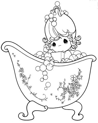 673 best images about precious moments coloring page on