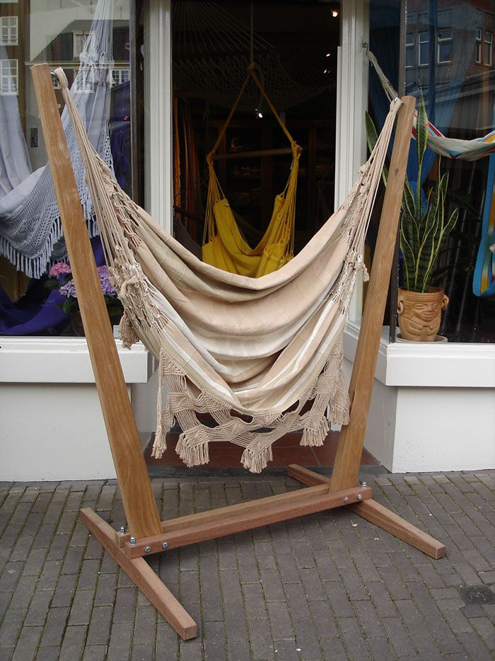 hammock chair and stand tulip table chairs nz 17 best ideas about hanging on pinterest   stand, alone ...