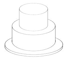17 Best images about Blank Cake Templates & Sizing Guides