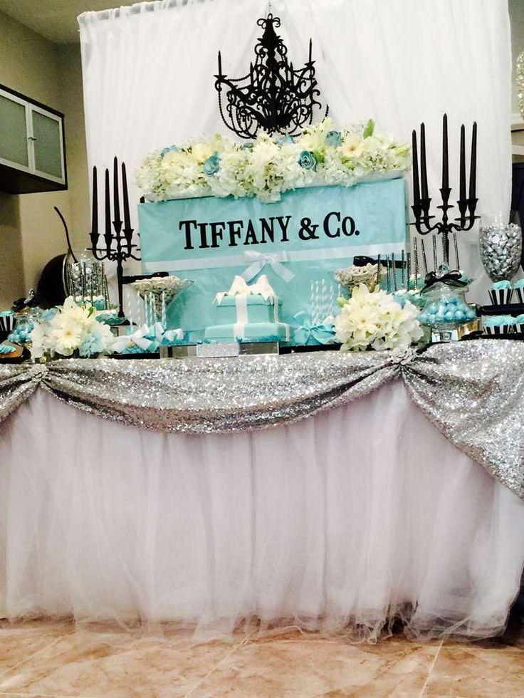 25 best ideas about Tiffany Centerpieces on Pinterest  Tiffany theme Tiffany blue