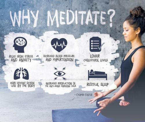 The ancient practice of meditation brings endless positivity into our lives. Learn to embrace the stillness. Double click for Deepak Chopra's top 8 meditation tips.