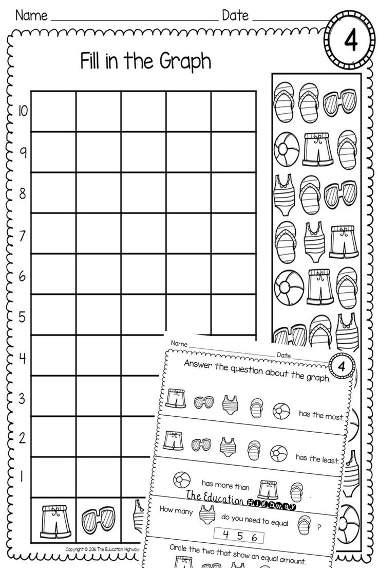 Free count and graph within 10. Perfect math practice for
