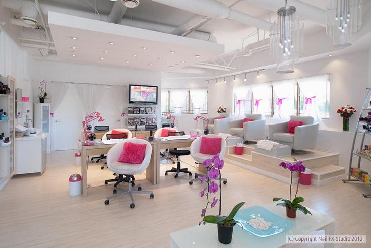 17 Best images about Miespacio Nails  Pink nail salon