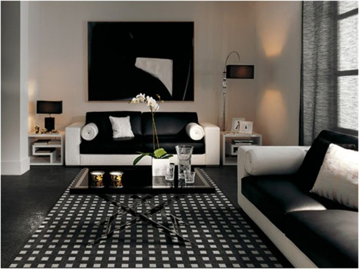 72 Best Images About COLOR Black Home Decor On Pinterest Black