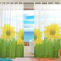 117 best images about Sunflower curtain on Pinterest ...