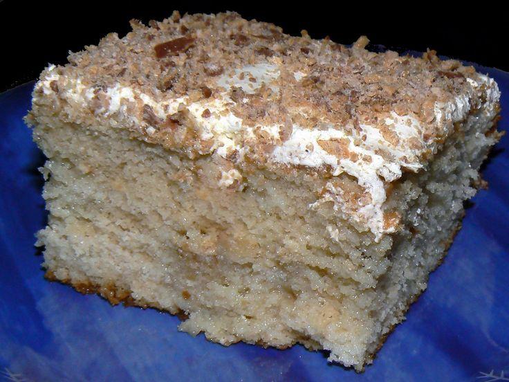 Recette Gteau Crunchie  Recettes du Qubec  Dessert  Pinterest  Cuisine