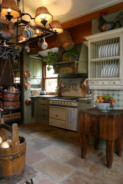rustic farmhouse country kitchen Bohemian Kitchen For more go to https://www.facebook.com