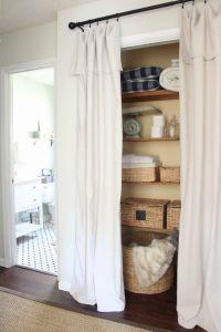 Best 25+ Closet door curtains ideas on Pinterest