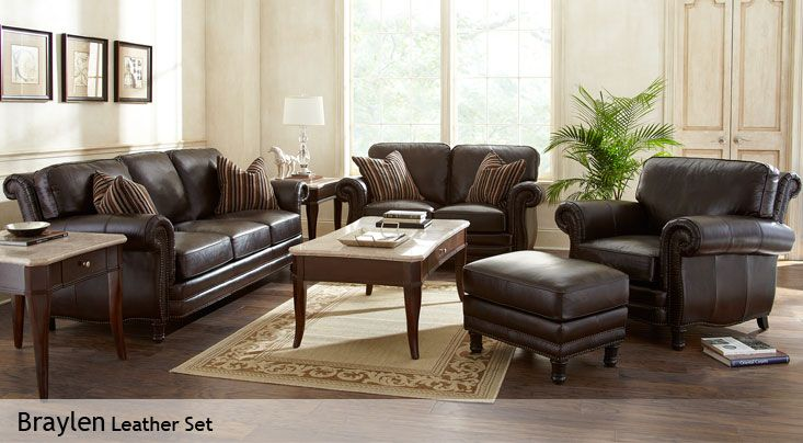 office chair leather lounge cushions cheap braylen furniture set from costco | pinterest room set, and living sets