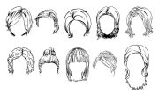 hairstyle sketches http