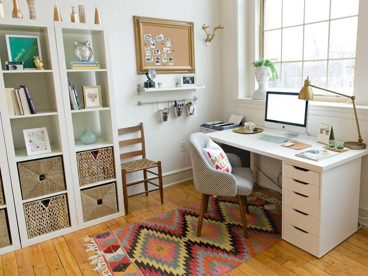 11 Pictures of Organized Home Offices | Home Remodeling – Ideas for Basements, Home Theaters & More | HGTV