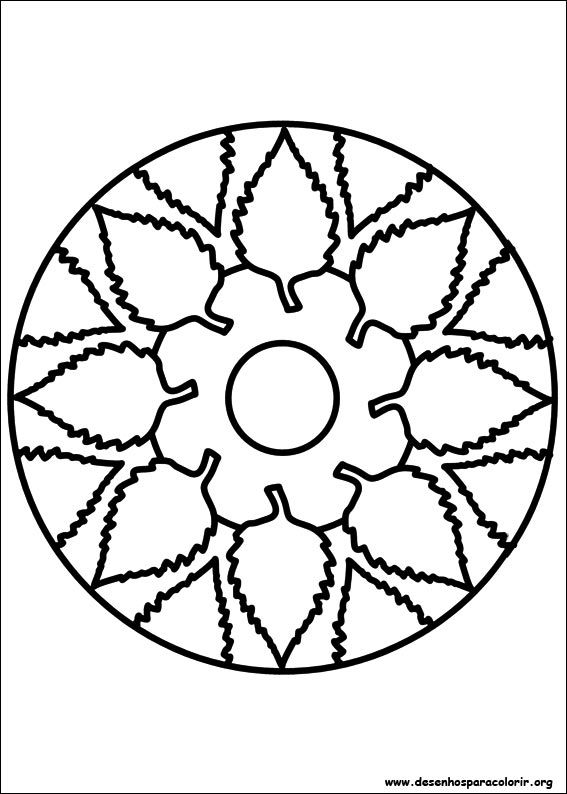 Easy Simple Mandala 91 Coloring Pages Printable - Auto ...