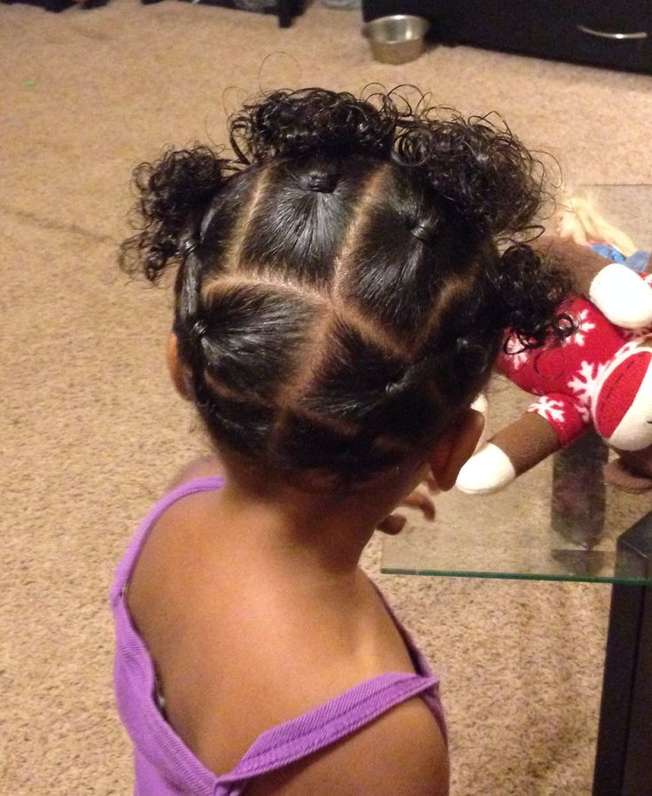 25 best ideas about Little mixed girl hairstyles on