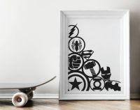 25+ best ideas about Marvel Wall Art on Pinterest   Marvel ...
